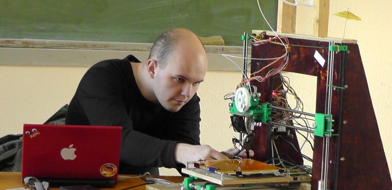 Налаштування 3D принтеру перед показом