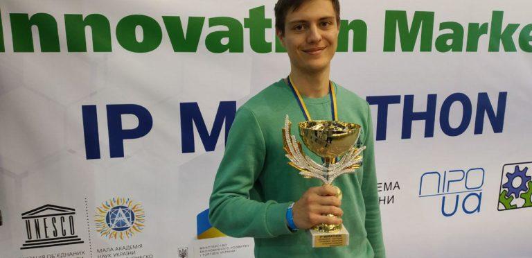 Студенти кафедри стали переможцями конкурсу на Міжнародного форуму «Innovation Market»