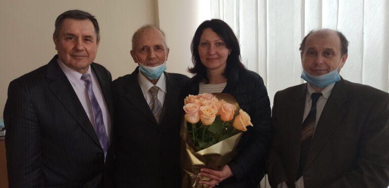 Поздоровляємо Нечипорук О.П. з успішним захистом докторської дисертації!